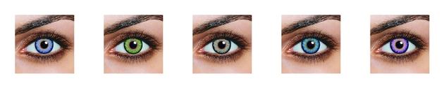 site ecommerce cosmétique (lentilles de contact)